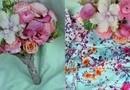 Buchet de Mireasa Rose - trandafi, brasica, ranunculus, fresia, astilbe, cala