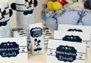 Invitatie Botez Mickey Mouse, Plcecard si Meniu Mickey Mousesi marturie Mickey Mouse Ciocolata / tematica Disney