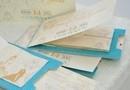 """Invitatie de Nunta """" Breeze of affection """" - Invitatie Nunta tip carte, carton special, se deschide ca o carticica."""