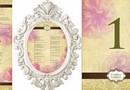 Invitatii de Nunta Clasice / Motive florale