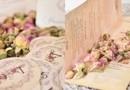 """Invitatii de Nunta - Gama printuri """" Trandafiri """" - Vintage"""