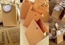 """Marturii Minibag Handmade """"Natur"""", Designed by T.Ina, accesorizata cu eticheta"""