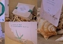 Printuri Nunta Scoici, 'Shells Cotage' / Kitul Include Invitatia de Nunta, Meniul, Placecardurile tematice, si