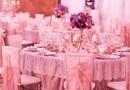 SFESNIC FLORAL / ARANJAMENT NUNTA - Locatie Palatul Stirbey, decorator Toni Malloni, fotograf PhotoChic.ro, sfesnic auriu cu flori fresh mov, fete de masa dantela, scaune chiavari gold cu dantela aplicata